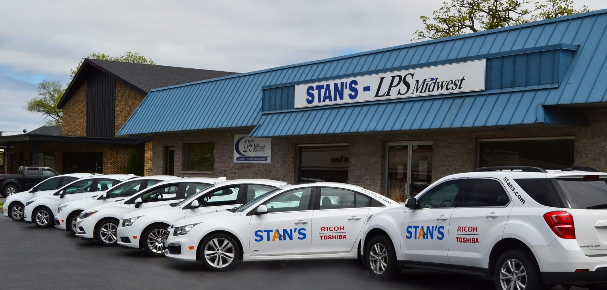 About Stans - Exterior of Our Office